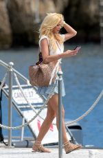 VICTORIA SILVSTEDT at a Yacht in Saint Tropez 06/15/2018