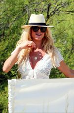 VICTORIA SILVSTEDT at Club 55 in Saint Tropez 06/16/2018