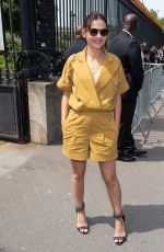 VIRGINE LEDOYEN at Balmain Fashion Show in Paris 06/24/2018