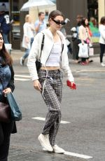 VITTORIA CERETTI Out Shopping in New York 06/10/2018