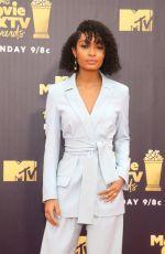 YARA SHAHIDI at 2018 MTV Movie and TV Awards in Santa Monica 06/16/2018