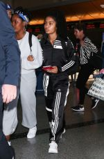 YARA SHAHIDI at Los Angeles International Airport 06/04/2018