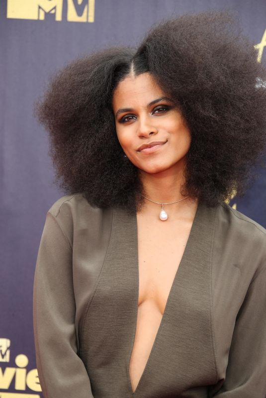 ZAZIE BEETZ at 2018 MTV Movie and TV Awards in Santa Monica 06/16/2018
