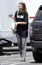 ZENDAYA COLEMAN Out and About in Los Angeles 06/06/2018