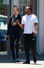 ZENDYA COLEMAN Out Shopping in Studio City 06/15/2018