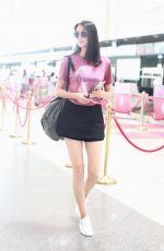 ZHANG ZILIN at Airport in Beijing 06/01/2018