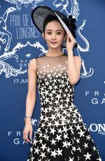 ZHAO LIYING at Prix de DIane Longines 2018 in Chantilly 06/17/2018
