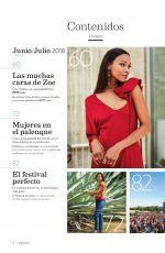 ZOE SALDANA in Nexos Magazine, June 2018 Issue