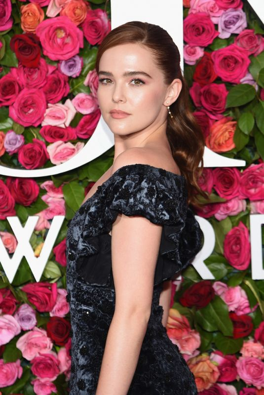 ZOEY DEUTCH at 2018 Tony Awards in New York 06/10/2018