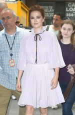 ZOEY DEUTCH at Today Show in New York 06/13/2018