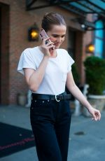 ZOEY DEUTCH Leaves Her Hotel in New York 06/21/2018