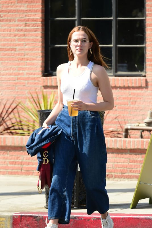 ZOEY DEUTCH Out and About in Los Angeles 06/07/2018