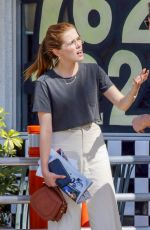 ZOEY DEUTCH Out for Lunch in Los Angeles 06/01/2018