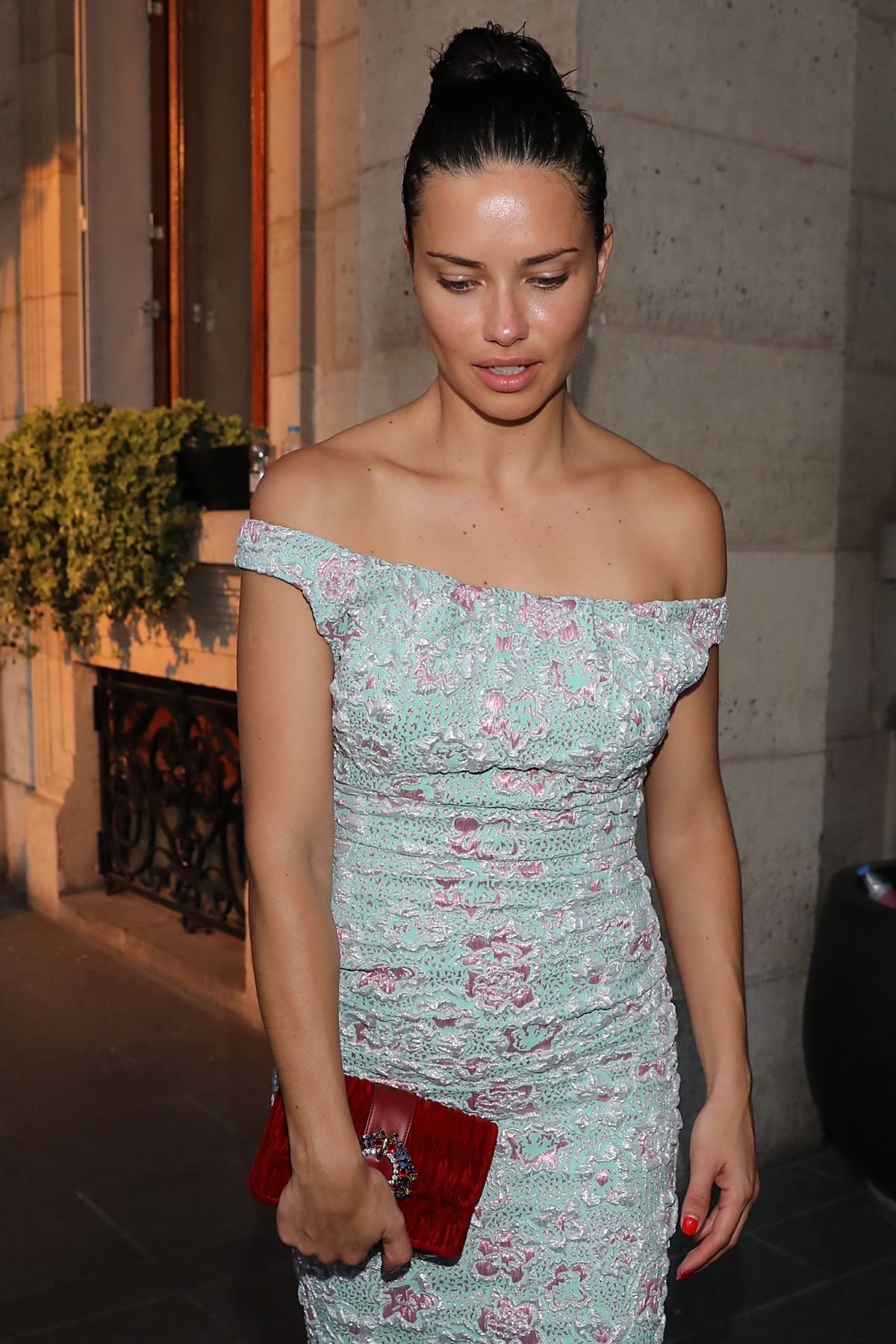 Adriana lima hawtcelebs adriana lima leaves miu miu fashion show in paris 06302018 voltagebd Gallery