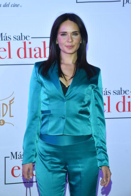 ADRIANA LOUVIER at Mas Sabe El Diablo Por Viejo Premiere in Mexico City 07/19/2018