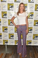 ADRIANNE PALICKI at The Orville Press Line at Comic-con in San Diego 07/21/2018
