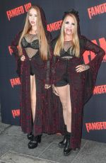 AFTON and GILLIAM MCKEITH at Fanged Up Premiere in London 07/25/2018