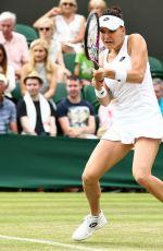 AGNIESZKA RADWANSKA at Wimbledon Tennis Championships in London 07/04/2018