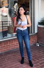 AIMEE GARCIA Out Shopping at Fred Segal in West Hollywood 07/24/2018