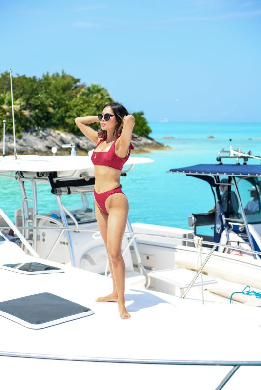 AIMEE SONG in Bikini at Revolve Summer Event in Bermuda 07/17/2018