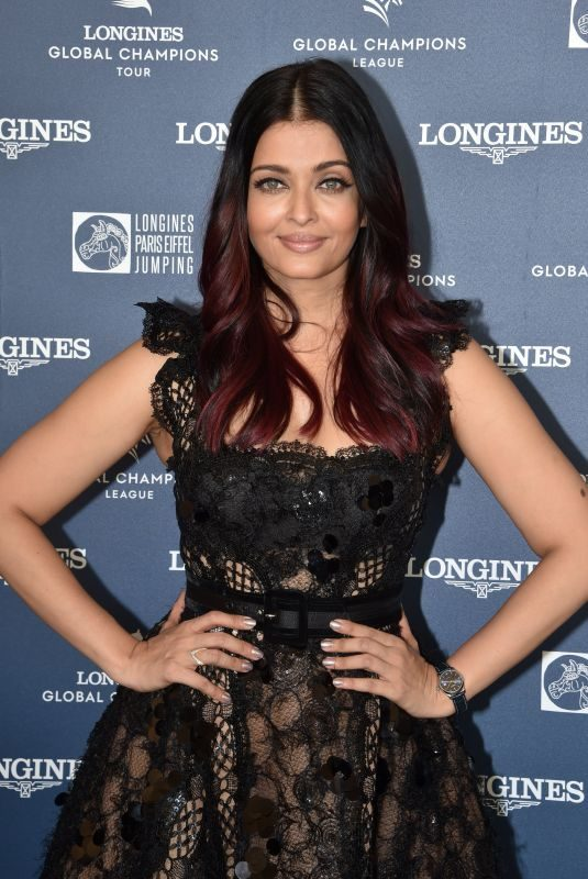 AISHWARYA RAI at Longines Global Champions Tour in Paris 07/06/2018