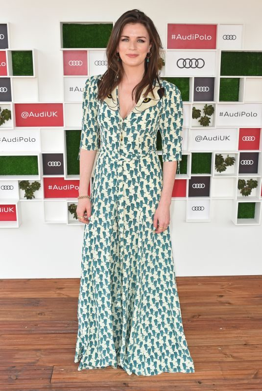 AISLING BEA at Audi Polo Challenge at Coworth Park Polo Club 07/01/2018