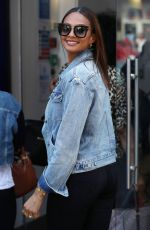 ALESHA DIXON Out and About in London 07/12/2018