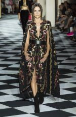 ALESSANDRA AMBROSIO at Zuhair Murad Runway Show at Paris Fashion Week 07/04/2018