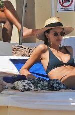 ALESSANDRA AMBROSIO in Bikini at a Beach in Ibiza 06/07/2018