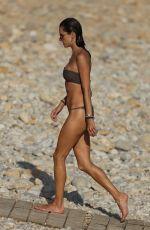 ALESSANDRA AMBROSIO in Bikini at a Beach in Ibiza 07/08/2018