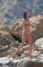 ALESSANDRA AMBROSIO in Bikini on the Beach in Ibiza 07/08/2018