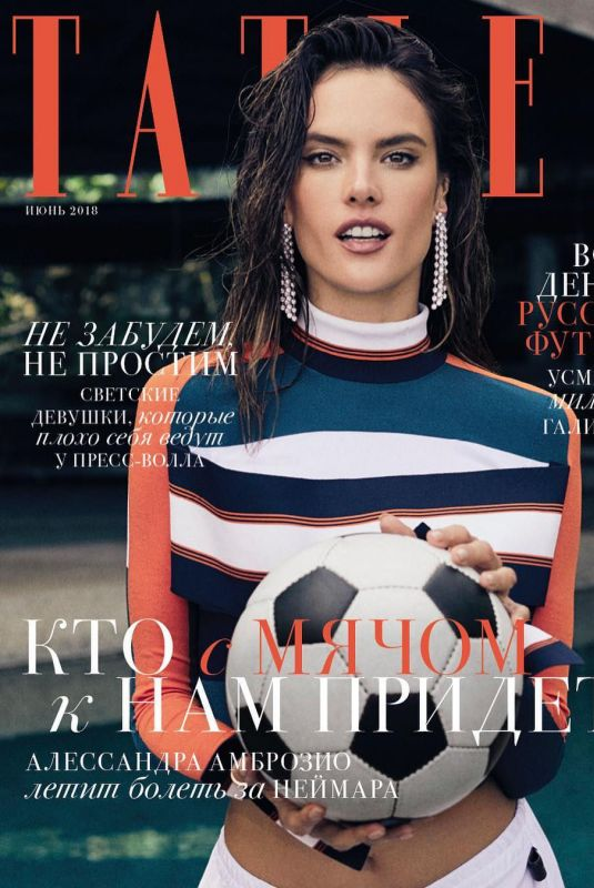 ALESSANDRA AMBROSIO in Tatler Magazine, Russia June 2018
