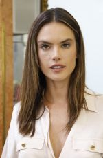 ALESSANDRA AMBROSIO on the Backstage of Zuhair Murad Fashion Show in Paris 07/04/2018