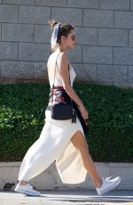 ALESSANDRA AMBROSIO Out and About in Los Angeles 07/02/2018