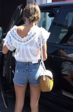 ALESSANDRA AMBROSIO Shopping at Brentwood Country Mart 07/20/2018