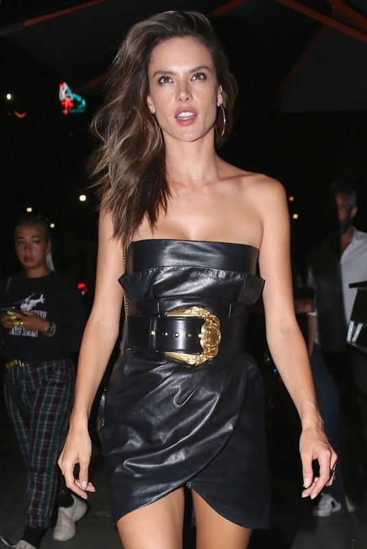 ALESSANDRA MABROSIO Leaves Tao Restaurant in Hollywood 07/20/2018