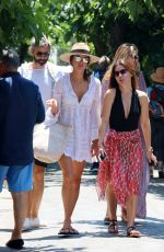 ALESSANDRA MABROSIO Out and About in Capri 07/02/2018