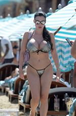 ALETTA OCEAN in Bikini at a Beach in Mykonos 07/17/2018