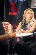 ALEXA BLISS at WWE Live at Madison Square Garden in New York 07/07/2018