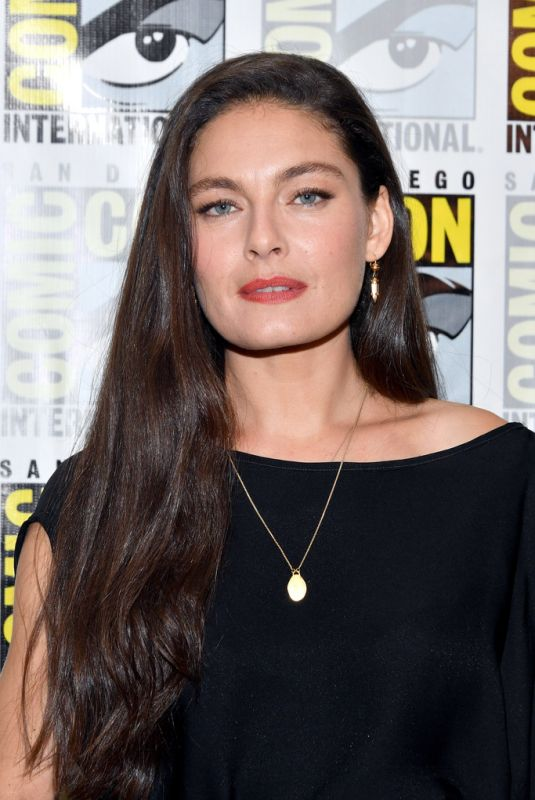 ALEXA DAVALOS at The Man in the High Castle Press Line at Comic-con in San Diego 07/21/2018