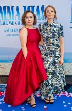 ALEXA DAVIES at Mamma Mia Here We Go Again Premiere in Amsterdam 07/17/2018