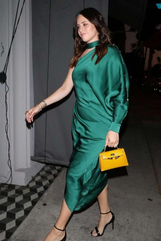 ALEXA DELL at Craig's Restaurant in West Hollywood 07/26/2018