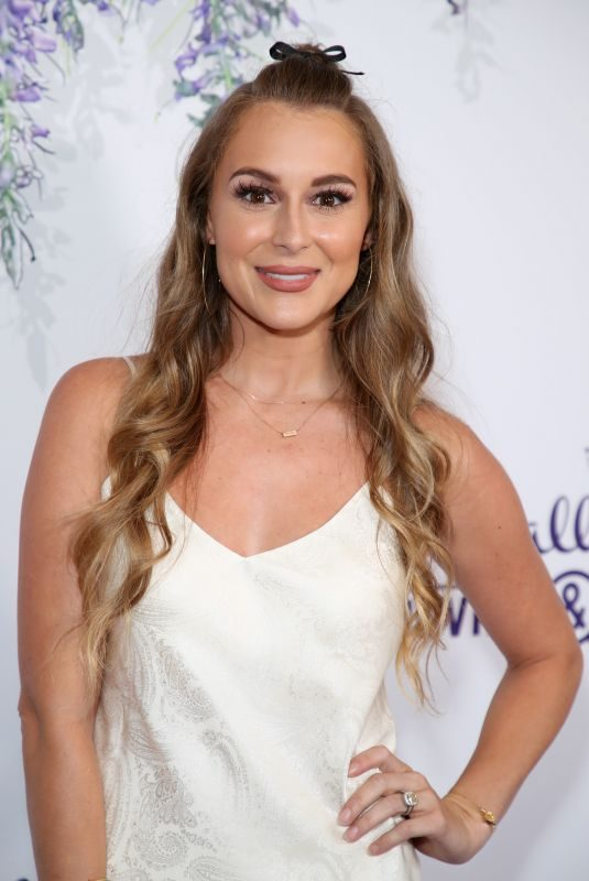 ALEXA VEGA at Hallmark Channel Summer TCA Party in Beverly Hills 07/27/2018