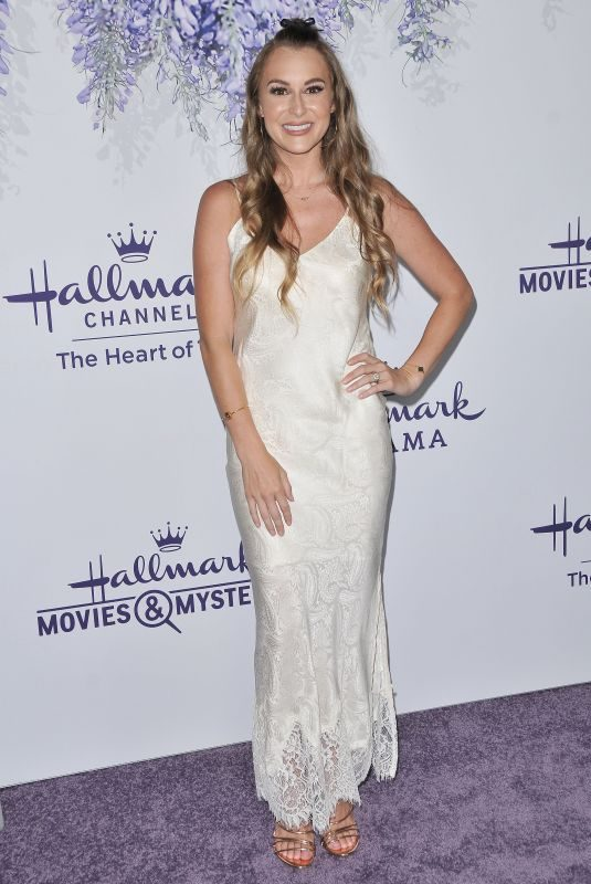 ALEXA VEGA at Hallmark Channel Summer TCA Tour in Beverly Hills 07/26/2018