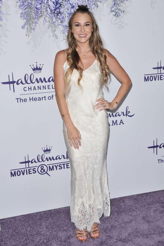 ALEXA VEGA at Hallmark Channel Summer TCA Tour in Beverly Hills 07/26/2018