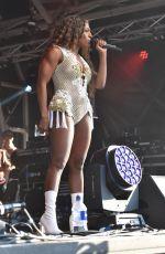 ALEXANDRA BURKE Performs at Pride London Festival in London 07/07/2018