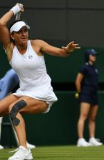 ALEXANDRA DULGHERU at Wimbledon Tennis Championships in London 07/04/2018