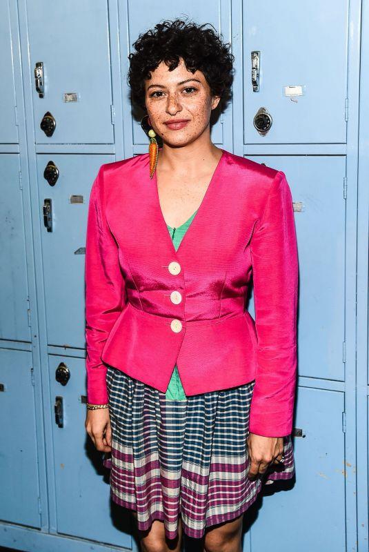 ALIA SHAWKAT at Eighth Grade Screening in Los Angeles 07/11/2018