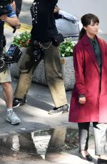 ALICIA VIKANDER on the Set of The Earthquake Bird in Tokyo 06/03/2018