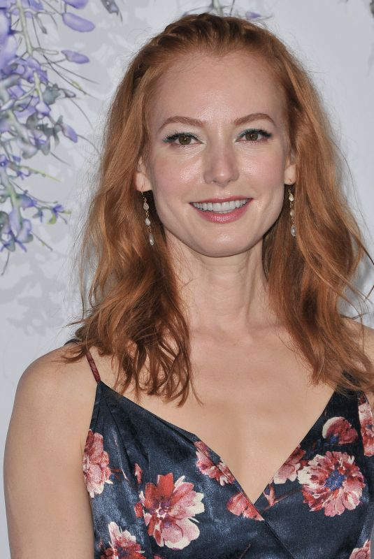 ALICIA WITT at Hallmark Channel Summer TCA Party in Beverly Hills 07/27/2018